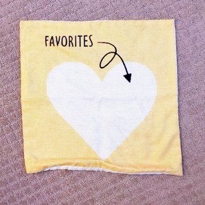 🎉3 for$10🎉 Favorites Cushion Cover - 17 x 17